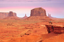 BEAUTIFUL MONUMENT VALLEY CANVAS PICTURE #38 STUNNING LANDSCAPE DECOR A1 CANVAS