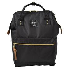 Anello AT-B0193 BK Unisex Fashion Black  Backpack Rucksack Diaper Travel bag -