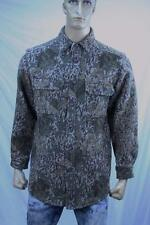 Authentic Woolrich Men's casual camo hunting print Wool Nylon  shirt US M-L