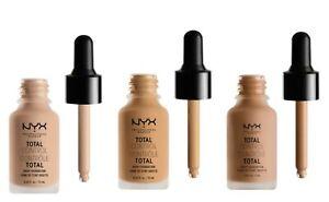 NYX Professional Makeup Total Control Drop Foundation - Various Shades - CMKUP16