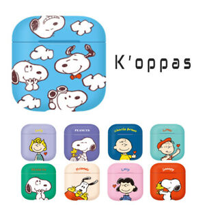 Official Peanuts Snoopy AirPods Hard Case Cover 9 Characters 100% Authentic