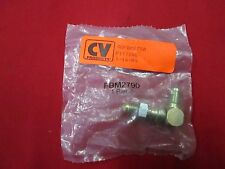 NEW AEROQUIP #3 AN BULK HEAD FITTING WITH NUT,FBM2790,BRAKE HOSE,LINE,FITTINGS
