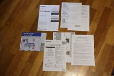 Onkyo TX-NR609 Receiver Owners Instruction Manual Setup Paperwork