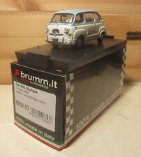 1034. BRUMM R250-07upd FIAT 600 MULTIPLA 1a SERIE 1956 MB Metà prezzo/Half price