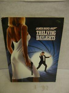 1987 The Living Daylights & Goldeneye Press Kits w/ Photos Plus Add'l Photos