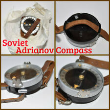 USSR Russian Army Military Adrianov Compass Hand Wrist Andrianov Kompas Unissued