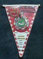 *RAR* Wimpel 70 Jahre Bayern München 1970 Fussball Rekordmeister Bundesliga FCB