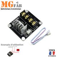 Module LM317 ENTREE 4,5 à 40Vdc SORTIE 1,2 à 37Vdc 1,5A réglable Arduino 7805