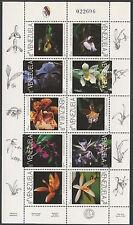 Venezuela 1997 MNH Sheet | Scott 1563 | Blanco 3062 | Orchid