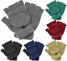NEW Unisex Mitten Gloves Fingerless Insulated Knit Winter Gloves Men Women Warm