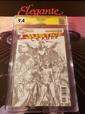 Justice League # 1 SS CGC 9.4 Retailer Sketch 1:200 Variant signed by FINCH