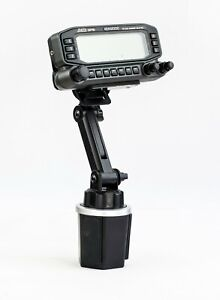 New Cup Holder Mount With Variable Height For Kenwood TM-D710 TM-D700 TM-V71A
