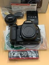 Canon 5D Mark III DSLR Camera Body + 40mm 2.8 STM lens + box