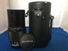 Olympus ZUIKO 200mm F4 OM Fit + GRATIS UK Affrancatura