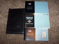 1994 Nissan Truck Owner User Guide Operator Manual King Regular 2.4L 3.0L V6