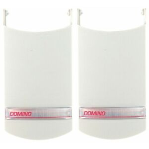 TWO Domino LID Replacement Keypad Hinge Cover Only For GD-1 Outdoor Keypad Head