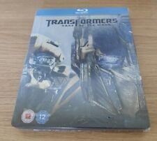 Transformers Dark Of The Moon - Blu-ray Steelbook - Embossed - OOP - V Rare!