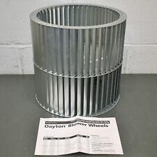 New Listingdayton Squirrel Cage Blower Wheel 2utw1 11 X 10 58 12 Bore 1750 Rpm Cw