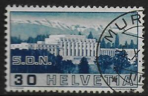 Switzerland stamps 1938 Zst ERROR 212.2.04 CANC VF