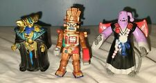 Mighty Morphin Power Rangers Evil Space Alien Lot of 3 w/ Master Vile Mechanizer