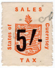 (I.B) Guernsey Revenue : Sales Tax 5/- (German Occupation)