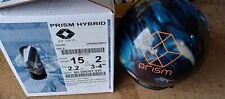 NEW 15lb Brunswick Prism Hybrid Bowling Ball 22127