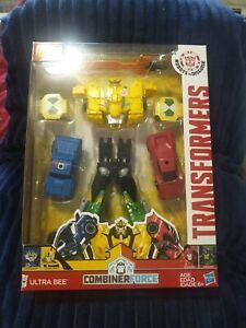 Transformers Combiner Force Ultra Bee with Sideswipe, Grimlock, Bumblebee MIP
