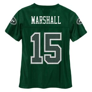 Brandon Marshall NFL New York Jets Dazzle Replica Green Home Jersey Youth (M-XL)