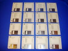 Vintage Apple Power Macintosh System 7 Software 16 Install Disks + Poster