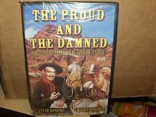 The Proud & the Damned-With Chuck Conners-Guns Of Freedom Blaze For Justice`New`