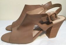 Diana Ferrari Size AU 11 / EUR 41/UK 9 / US 11 Women's Open Toe Block Heel Mules