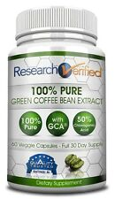Research Verified Green Coffee Bean Extract - Weight Loss Supplement (1 Bottle)