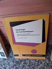 Psychologie für Sozialpädagogen, von Dr. Gustav A. Brandt