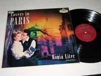 MONIA LITER & ORCH. Lovers In Paris LONDON UK Pressing