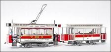 Straßenbahn Modell Kartonbausatz Dresdner TW 309 mit BW  Maßstab 1:87 - H0