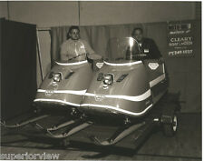 Vintage Moto-Ski Zephyr Snowmobiles 1960's Snowmobile Showroom Old Time Sleds