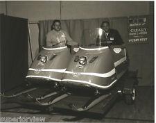 Vintage Moto-Ski Zephyr Snowmobiles 1960's Snowmobile Showroom Old Time Sleds