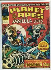 PLANET OF THE APES AND DRACULA LIVES! #112 (8.0) UK MAGAZINE