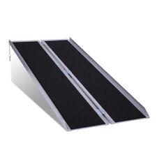 6 Feet (40 Pound) Handicap Aluminum Wheelchair Lightweight Folding Access Ramp