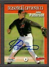 1999 Team Best #74 John Patterson High Desert Mavericks Signed Autograph (F50)