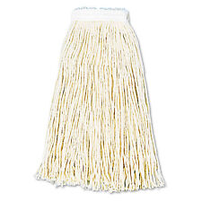 Boardwalk Premium Cut-End Wet Mop Heads Cotton 16oz White 12/Carton 216CCT