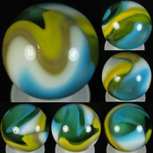 Beautiful Peltier MCS/Multicolor Swirl SHOOTER Marble - .75 inches