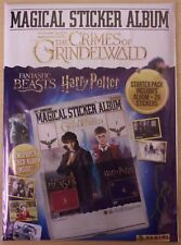 Fantastic Beasts Crimes of Grindelwald ~ Panini Sticker Collection Starter Pack