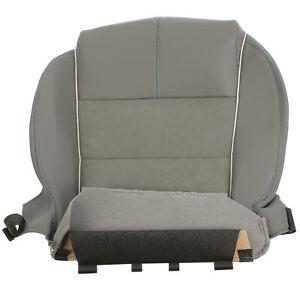 OEM GM 2014 Chevrolet Impala Front Seat Cushion Cover w/Heated Titanium 23105660