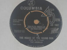 """THE ANIMALS -The House Of The Rising Sun- 7"""" 45"""