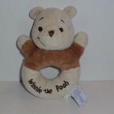 Doudou Hochet Ours Disney - Winnie the pooh