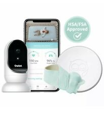Owlet Smart Sock + Cam Baby Video Monitor Bundle Heart Rate Oxygen Level Audio