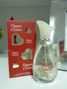 CHANSON D´AMOUR COTY Eau de toilette for woman new in box unused 100ml SPRAY