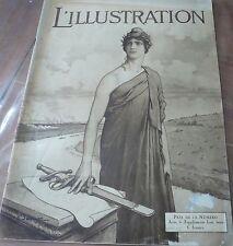 Revue L' ILLUSTRATION N° 3983, 1919…