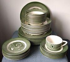 """Royal ~ """"Colonial Homestead"""" ~ Green ~ DINNERWARE PIECES ~ Choose 1 or Buy All"""